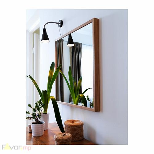 Đèn bàn kẹp IKEA KVART dùng làm đèn đọc sách, đèn làm việc, đèn trang trí