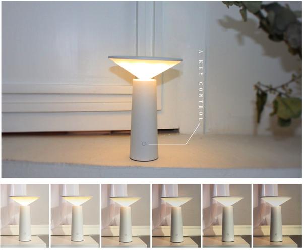 Den-ban-ngu-nam-XiaoI7 Đèn bàn ngủ tích hợp pin sạc Mini I LED